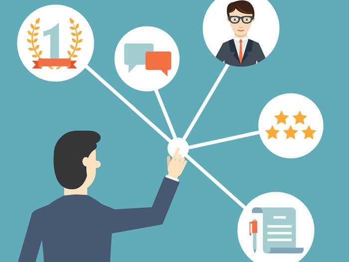 Nhân viên muốn theo dõi các chỉ tiêu tự nhập tổng hợp trên hệ thống thì phải vào đâu?
